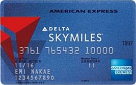 デルタ スカイマイル アメリカン・エキスプレス(R)・カード